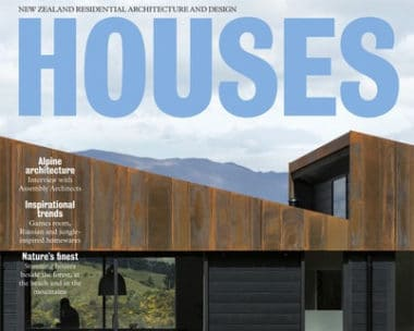 Houses NZ Magazine feature cover Cable Bay