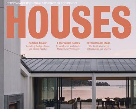 Houses NZ Magazine feature cover Atawhai