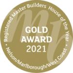 Master Builders gold Award logo 2021